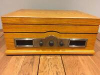 Steepletone Norfolk Turntable / Record Player with CD player
