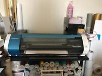 Roland BN20 solvent printer vinyl cutter