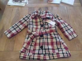 Girls jacket brand new