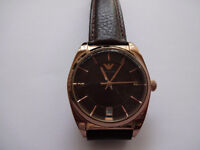 Emporio Armani Watch in Rose Gold