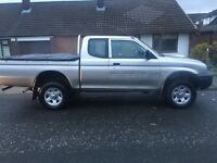 Mitsubishi l200 2005 diesel pickup excellent reliable truck.