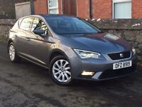 Mint late 2013 SEAT LEON 1.6 TDI SE Technology pack.trade in considered, credit cards accepted