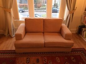 For Sale 2 Seater Light Beige Sofa