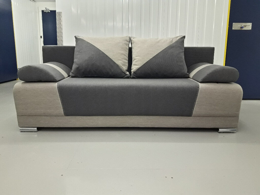 Brand new polish sofa bed settee nowe polskie sofy z for Sofa bed free delivery