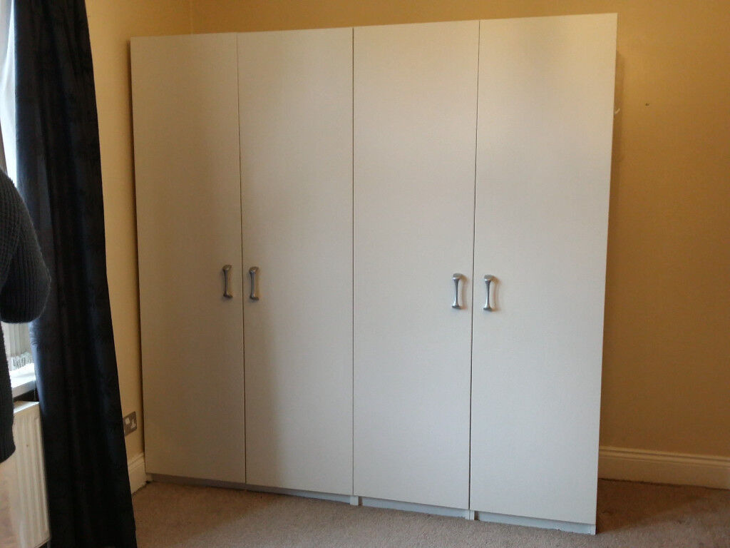 4 Door Wardrobe For Sale In Allerton West Yorkshire