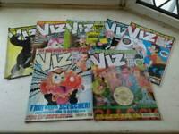7 x Viz magazines.