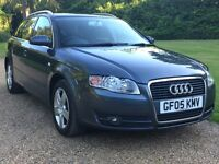 AUDI A4 AVANT 2.0 TDI 6 SPEED MANUAL,IN GREY FULL CAR BREAKING,FOR PARTS CALL 07411941369