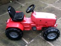 ROLLY TOYS - RIDE ON PEDAL TRACTOR