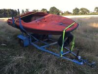 Wave runner Speed boat hull only offers