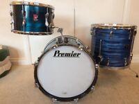 "Premier drum kit 18"".12"" & 16"""