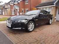 JAGUAR XF 2013 only 38k miles immaculate con. reverse CAMERA and PRIVATE PLATE as extra SAT NAV +