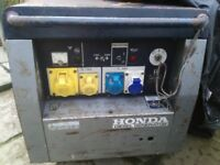 HONDA EX4D DIESEL GENERATOR FOR SALE.