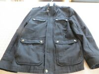 Mens Cedarwood Black Wool Jacket Medium with lining Excellent quality