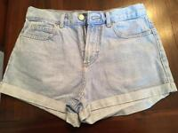 Topshop Rosa Denim Shorts