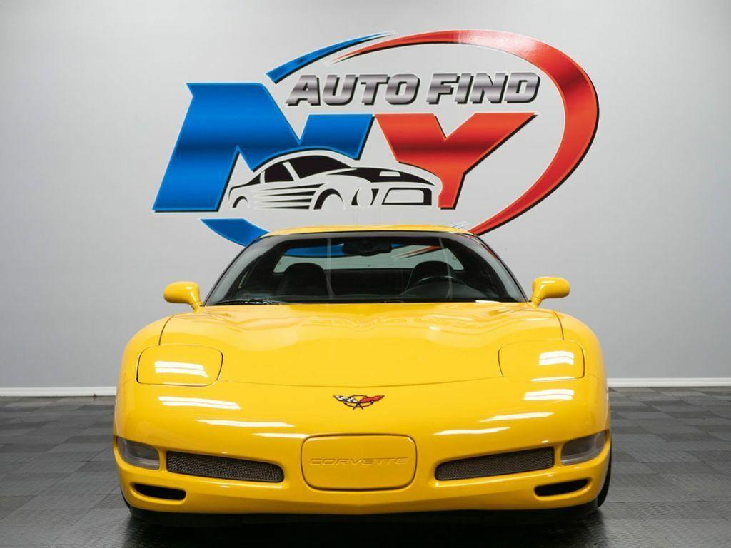2001 Yellow Chevrolet Corvette Z06    C5 Corvette Photo 10
