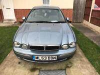 2003 Jaguar X Type SE for spares & repairs
