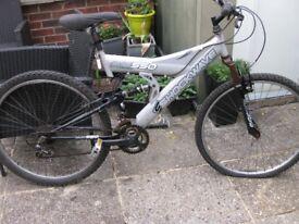Old shockwave bike