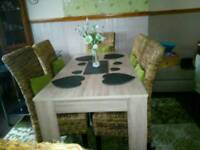 Dining table and tables