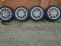 Bmw 5 series alloys (not genuine)
