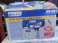 Powercraft 550w Electric cable hoist lift