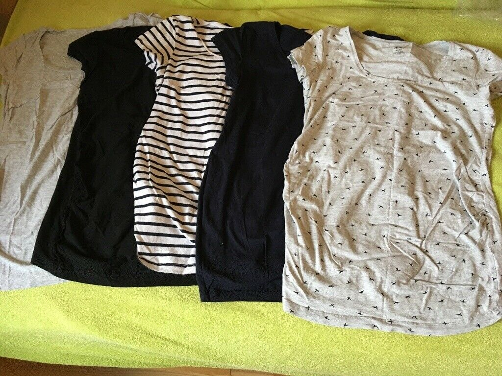 0f1adbbb4ab0 H&M maternity clothes bundle mostly size S + Mamalicious winter jacket