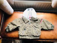 Baby girl Diesel jacket. Age 6 months