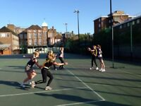 Play Social Ladies and Mixed Netball in Camden!