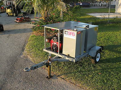 Crisafulli Self Contained Hydraulic Power Unit System On Trailer