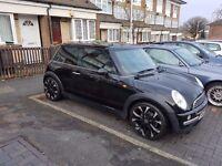 2002 black Mini One 1.6 103k