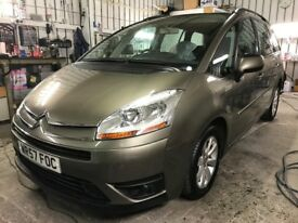Citroen C4 Grand Picasso VTR+ 7 seater 1.6 HDi 110hp Diesel Semi-Auto MOT - 20/02/2019 Serviced