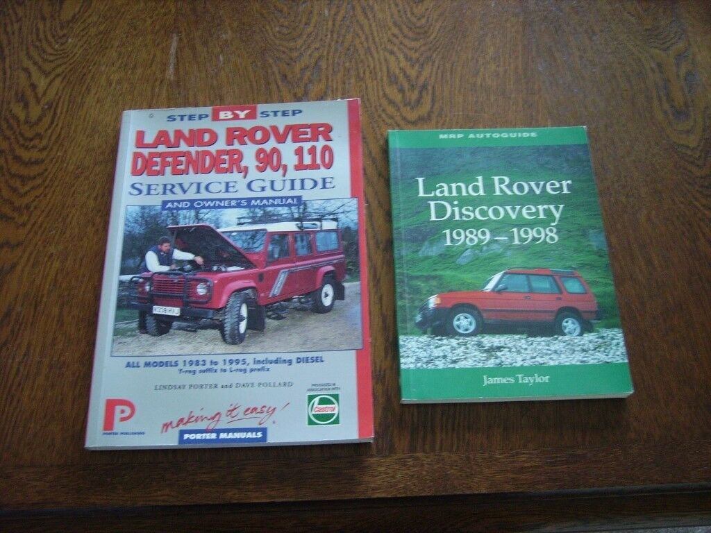 Land Rover Defender 90/110 Service Guide & Owners Manual
