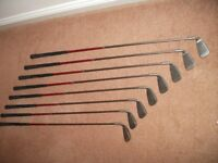 PING G20 GOLF CLUBS, graphite shafts, 4 iron to SW. Mint condition
