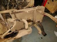 Land rover 200tdi radiator and intercooler