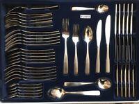 Judge Dunster 44 piece stainless steel cutlery set