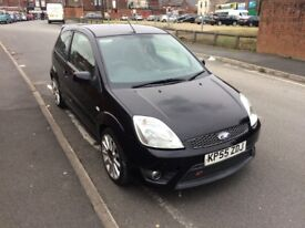 Ford Fiesta 2.0 St, Finished In Black, Facelift Model ST Half Leather Interior, ST Alloys,