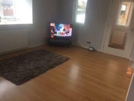 Good condition laminate flooring. 20 metres square