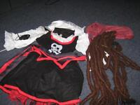 costume de pirate pour fille