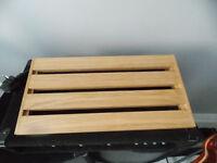 guitar pedal board