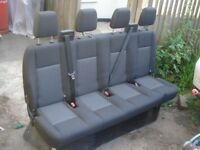TRANSIT MK7 MK8 REAR BENCH SEATS CREW CAB