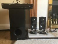 LG 2.1 surround system