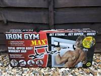 IRON GYM MAX Multifunctional Bar Brand New in Box with receipt of purchase.