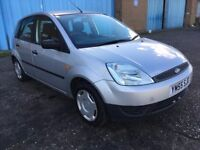 (55) Ford FIESTA 1.2 , mot - July 2018 , only 80,000 miles ,service history ,clio,corsa,punto,polo