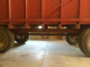 Used forage wagon