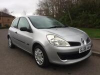 CLIO 3DR , 1.6 , MOT 1 DEC 18 , FULL GLASS ROOF , SERVICE HISTORY ,