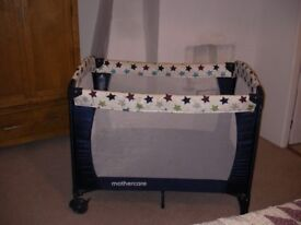 Travel Cot, Mothercare, £10