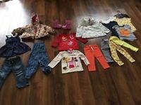 Girls clothes bundle age 2-3 years ( 11 items BNWT)