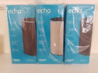 Brand New & Sealed 2nd Gen Amazon Echo (3 Available) All-New Generation