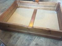 Pair Of Pine Under Bed Drawers