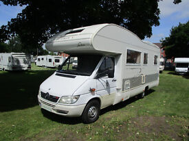 Rimor Superbrig 727 6 berth motorhome with U shape lounge