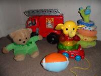 10 pcs baby boy toys